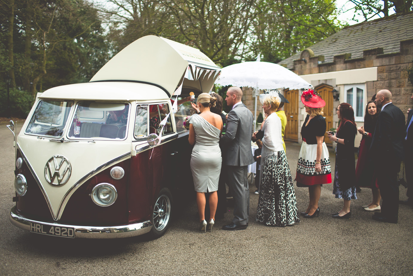 Ice Cream Van Hire could be popular for Weddings & Special Events