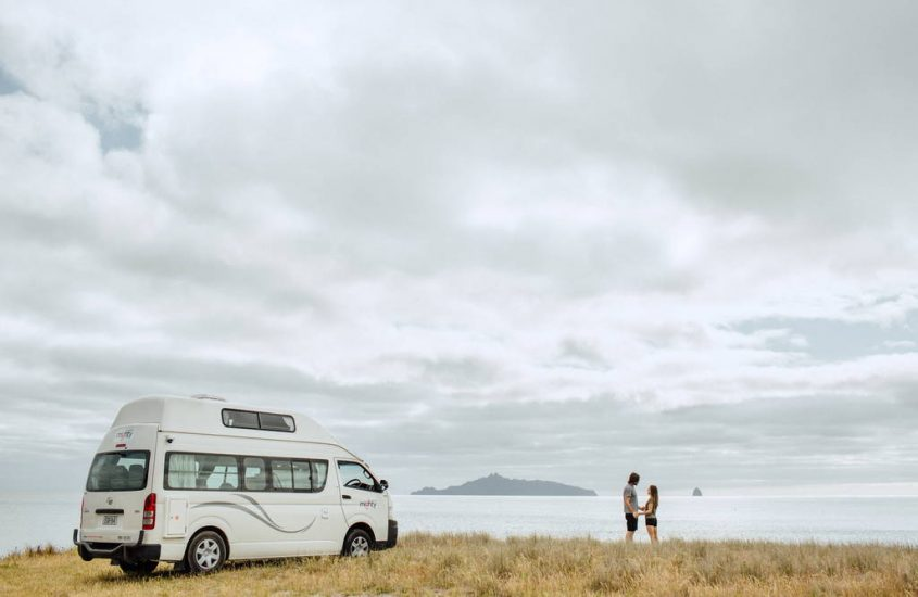 Van hire company offers free stay for naked travellers