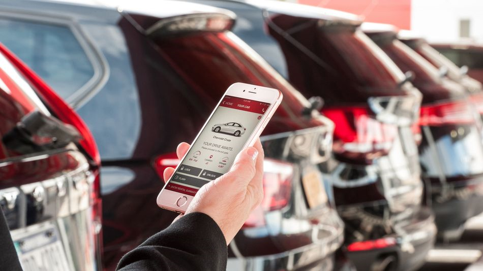 Avis streamline car hire market with app launch