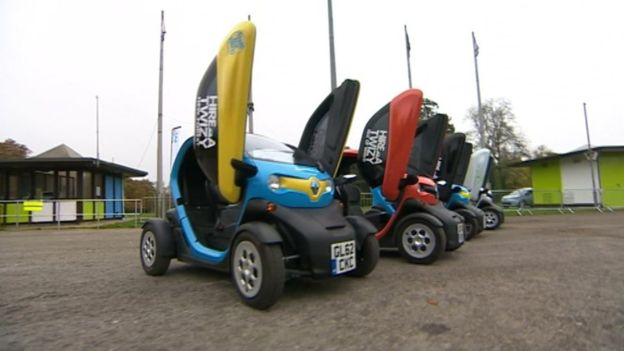 Eco-friendly car rental firm Twizy stops taking bookings