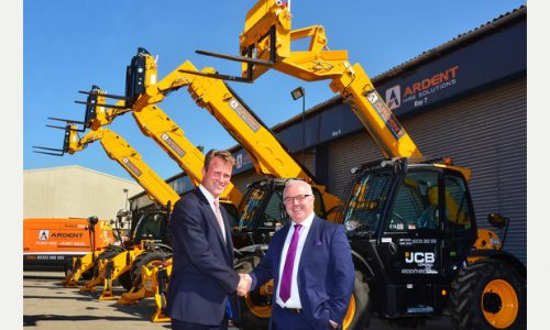 JCB secure 40m deal with Ardent Hire Solutions