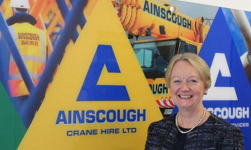 Ainscough Crane Hire  appoints new CEO