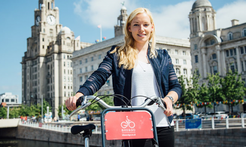 Free Liverpool bike rental with Bike & Go