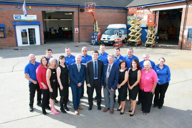 the-team-at-astley-hire-mark-50-years-in-business-with-leigh-mp-andy-burnham-and-operations-director-michael-dorricott-and-commercial-dir