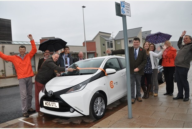 Co-Cars car hire scheme are in times of expansion