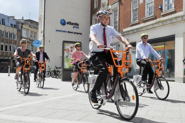 ReadyHire Bike Scheme in Reading Acquires New Sponsors