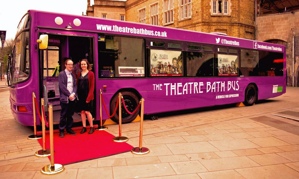 The Theatre Bath Bus is now available to hire!