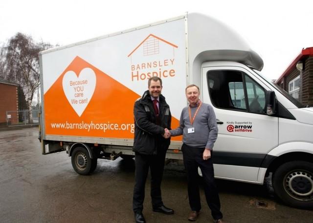 Yorkshire rental company forms partnership with Barnsley Hospice