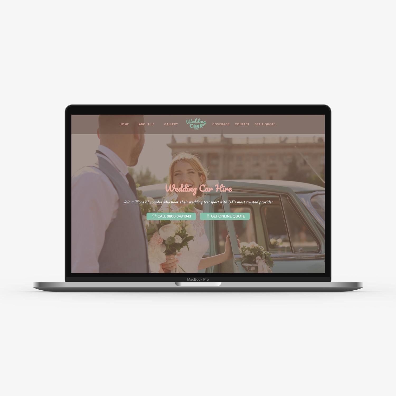 UK's most popular wedding car hire website revamps their website