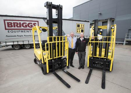 Briggs invest 10m in forklift hire fleet