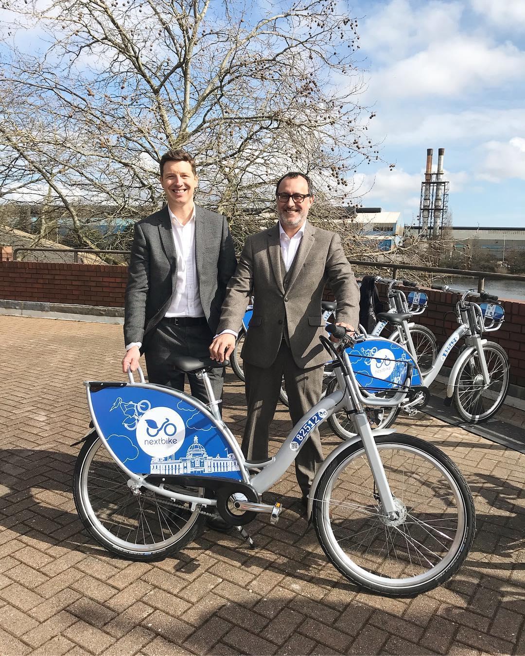 Bike hire scheme arrives in Cardiff