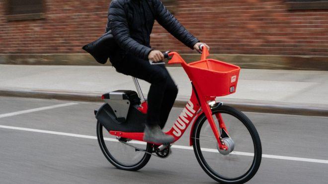 Uber acquire electric bike rental startup; Jump