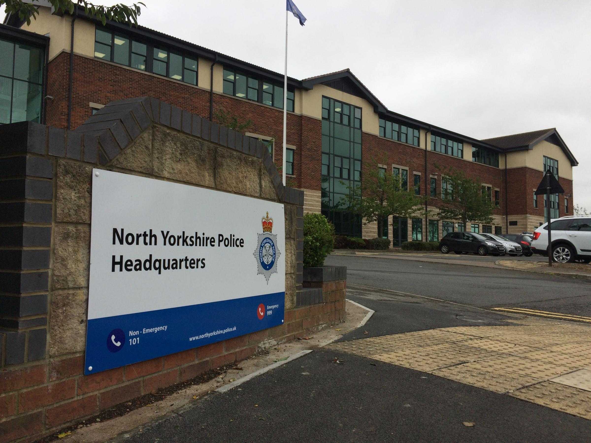 North Yorkshire Police spend more than £250,000 on car hire