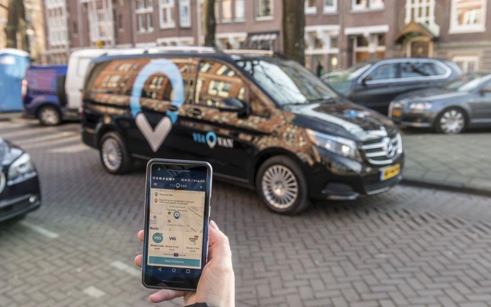ViaVan: Ride sharing app launches in London