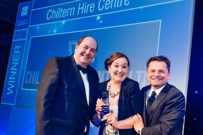 Bedford hire business scoops national award