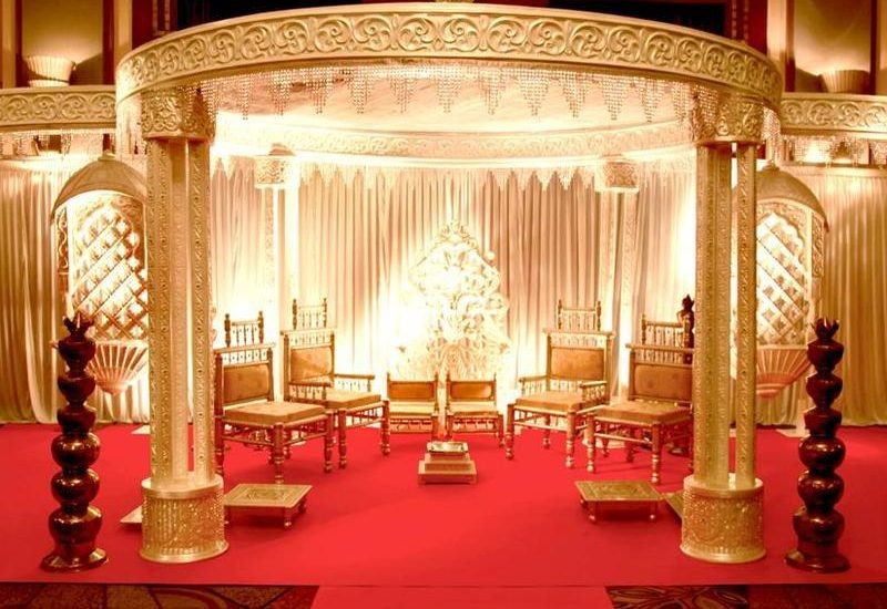 Compare the Mandap Acquired by Anything For Hire