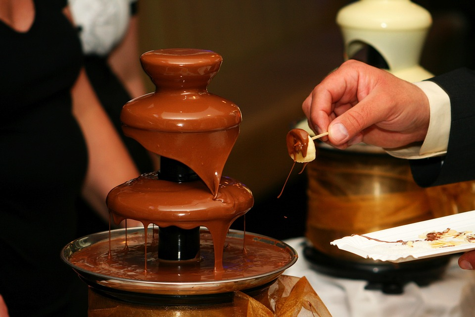 Chocolate Fountain Hire: Top events For chocolate fountains